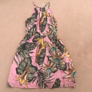 Plum flower jcrew crewcuts tank dress